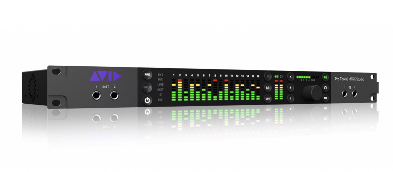 BFD Rental AVID MTRX Studio interface